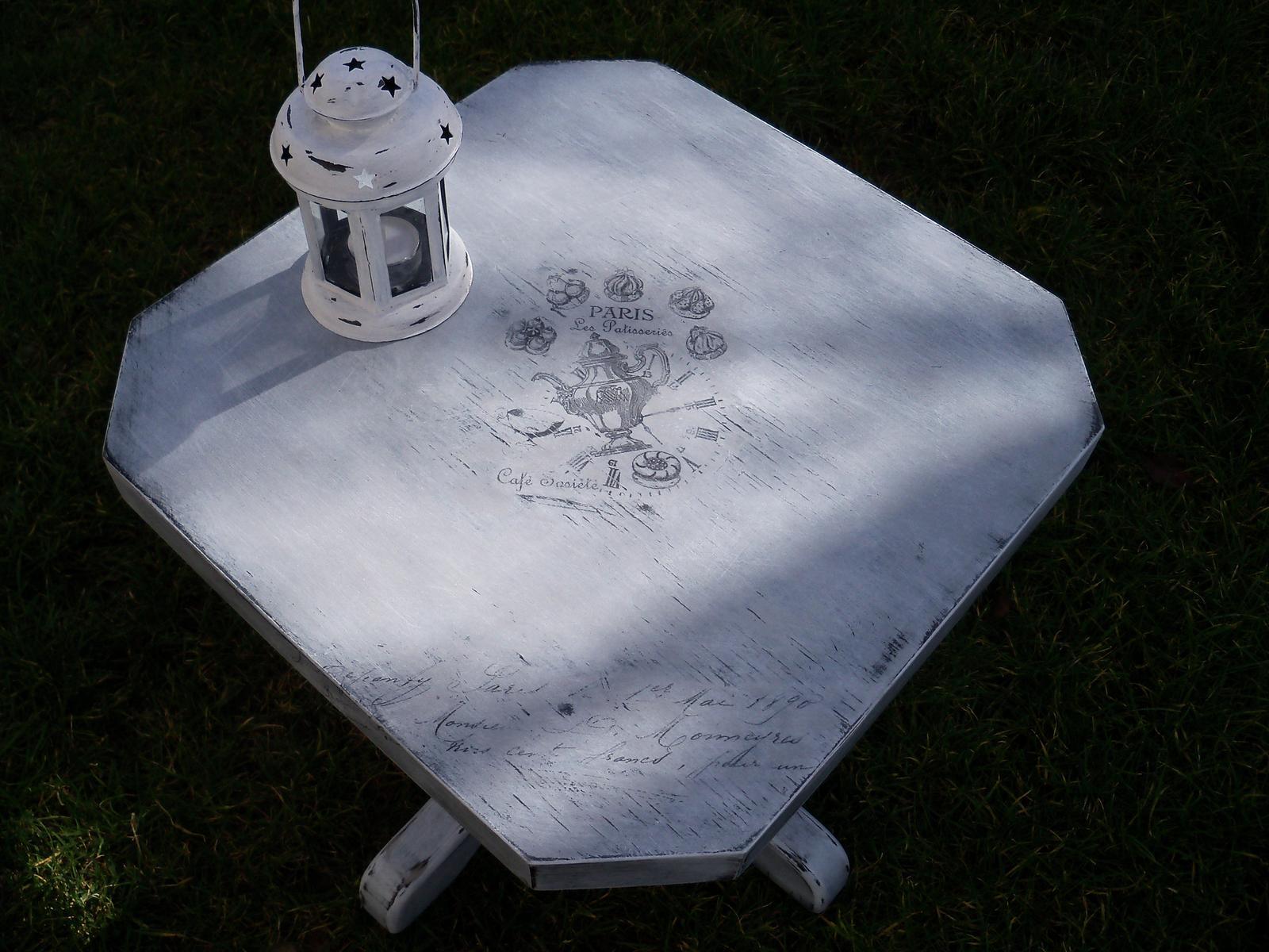 Moje tvoreníčko - stolček príručný