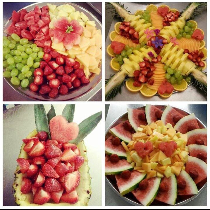 Krásna cesta svadobnými prípravami sa začala.... - ukážka našich ovocných mís,neskôr pribudnú ďalšie :-)
