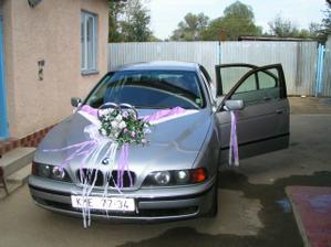 moje svadobne auto