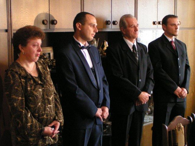 Melinda Mulidránová{{_AND_}}Kristián Kováč - manželova rodinka