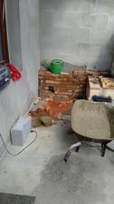 kout pro dřez je již ve výstavbě