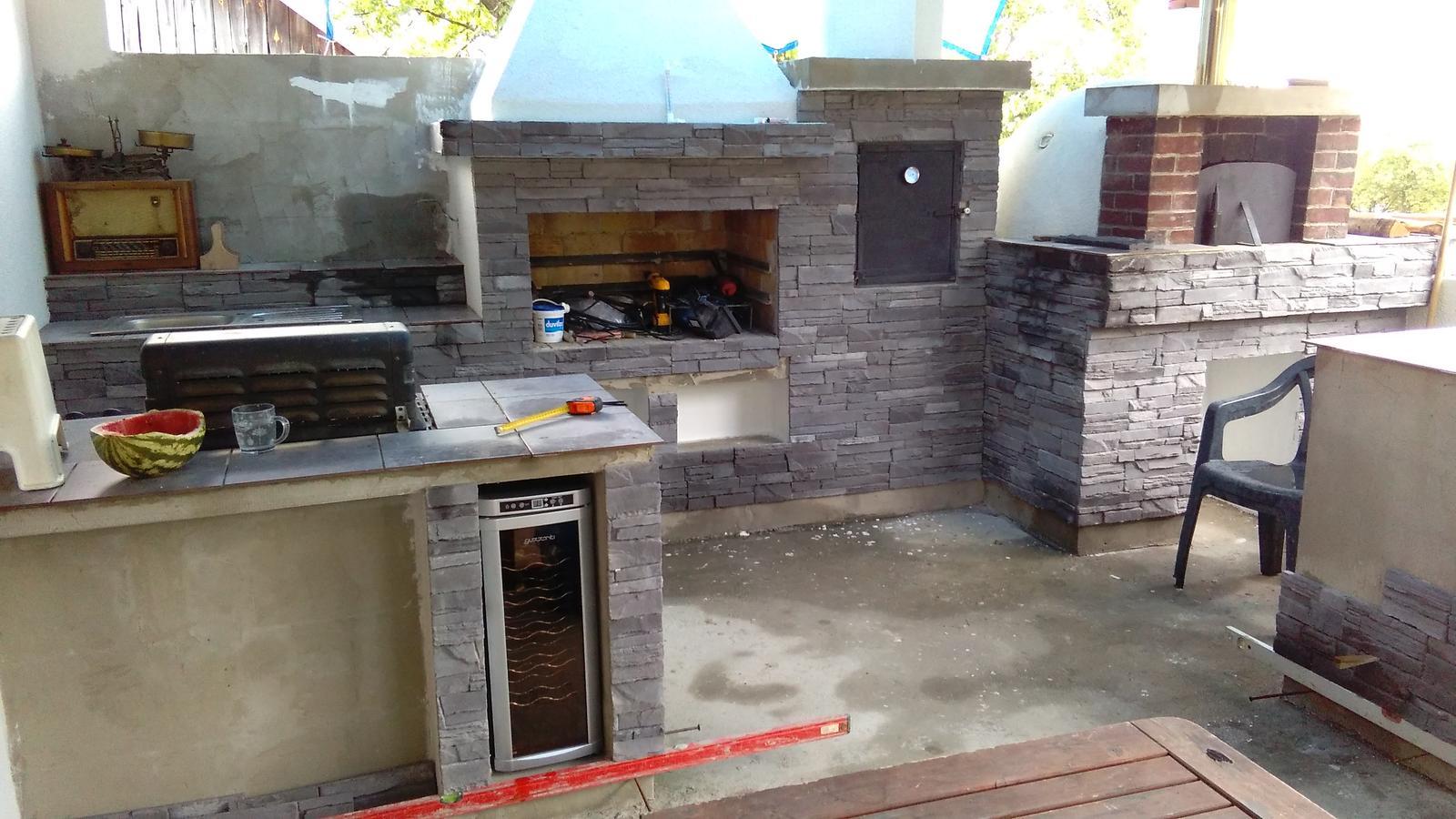 Stavíme letní kuchyň svépomocí, - Obrázek č. 160
