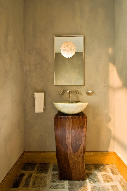 Koupelna v rustikálním stylu - Obrázek č. 1