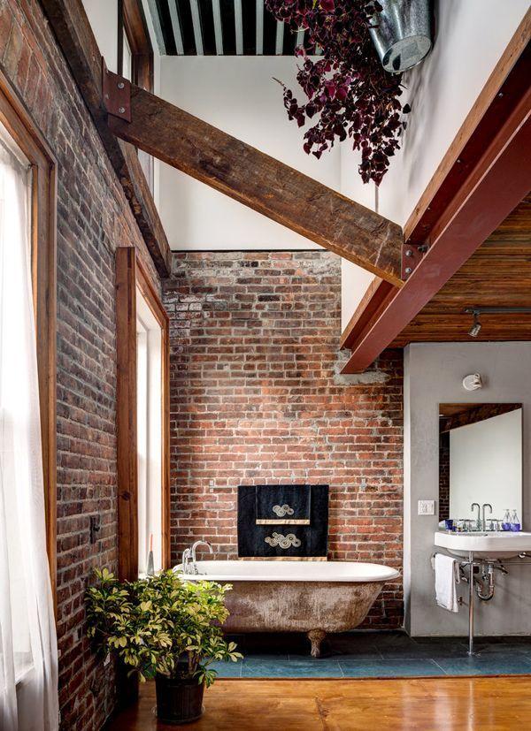 Koupelna v rustikálním stylu - Obrázek č. 2