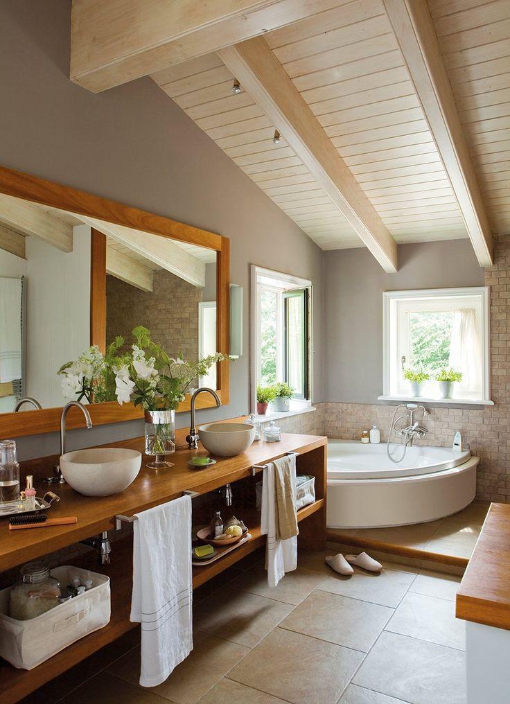 Koupelna v rustikálním stylu - Obrázek č. 7