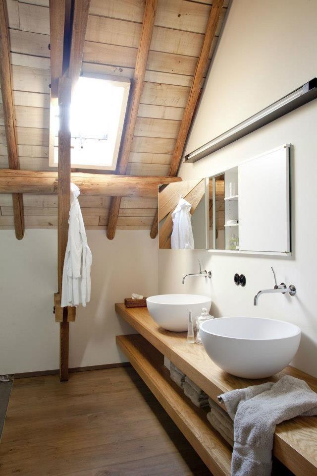 Koupelna v rustikálním stylu - Obrázek č. 8