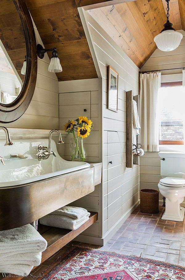 Koupelna v rustikálním stylu - Obrázek č. 10
