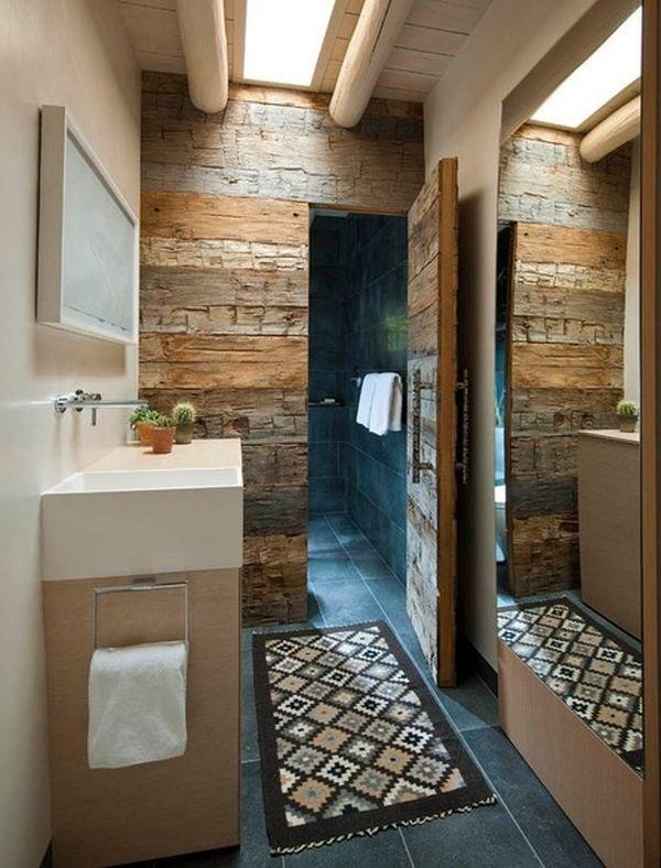 Koupelna v rustikálním stylu - Obrázek č. 12