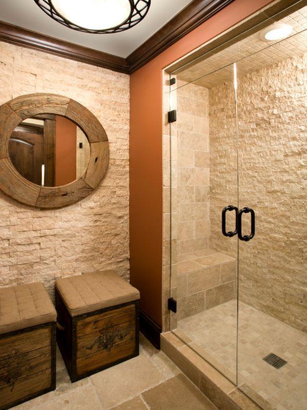 Koupelna v rustikálním stylu - Obrázek č. 14