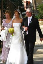 cesta do kostola s rodicmi