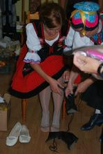 vytancovane bolave nohy-este pred redovym tancom!