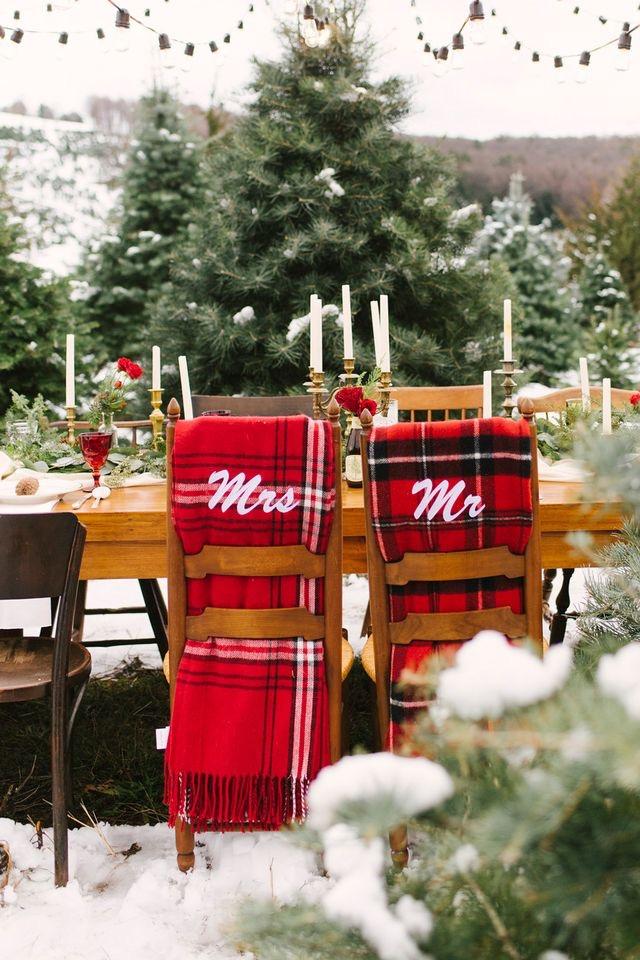 Krása zimní svatby...❄️ - Obrázek č. 46
