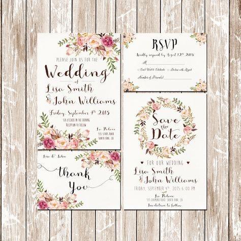 Předlohy pro Svatební oznámení 🌸... - Obrázek č. 51