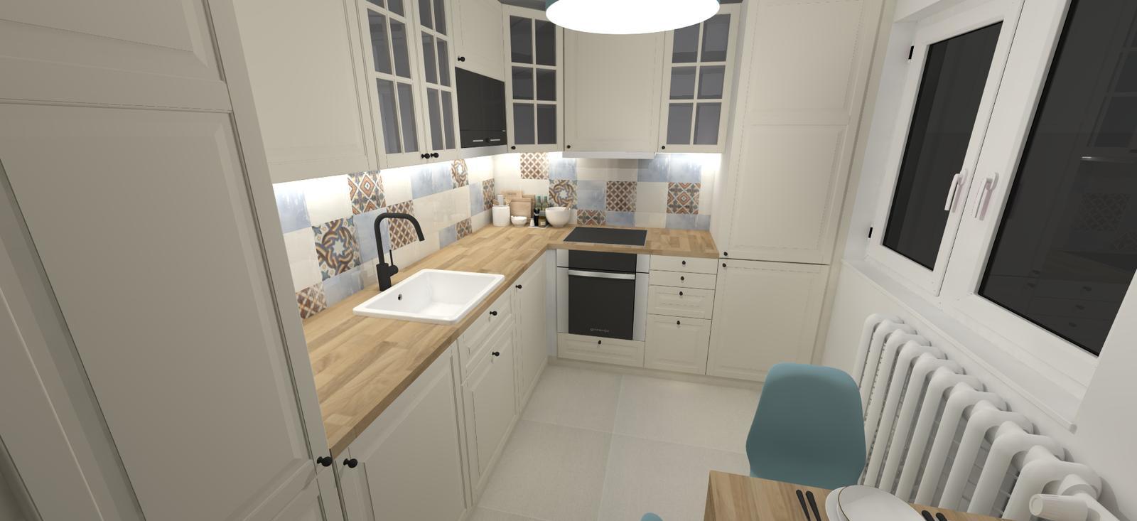 Rekonštrukcia 3i bytu - kuchyňa