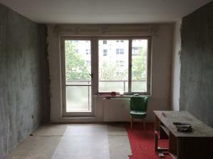 Tu sú ešte staré okná...