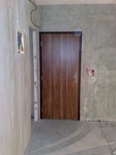 Nové vchodové dvere.