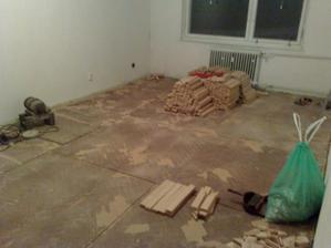 Obývačka.