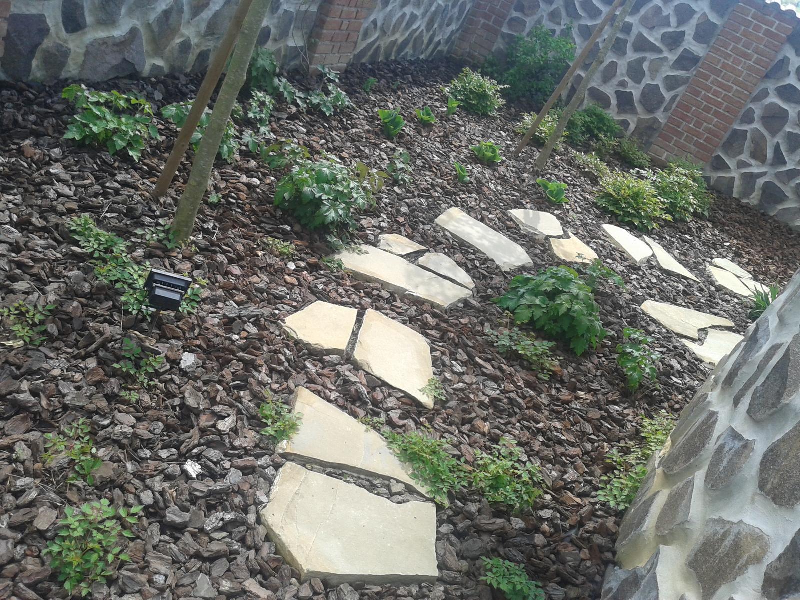Exterier zahrada - Naša džungľa...