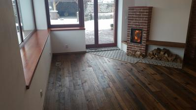 ...podlaha dokončená