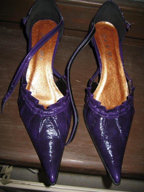 Náš veľký deň bude 9.mája 2009 - Topánky k šatám po polnoci