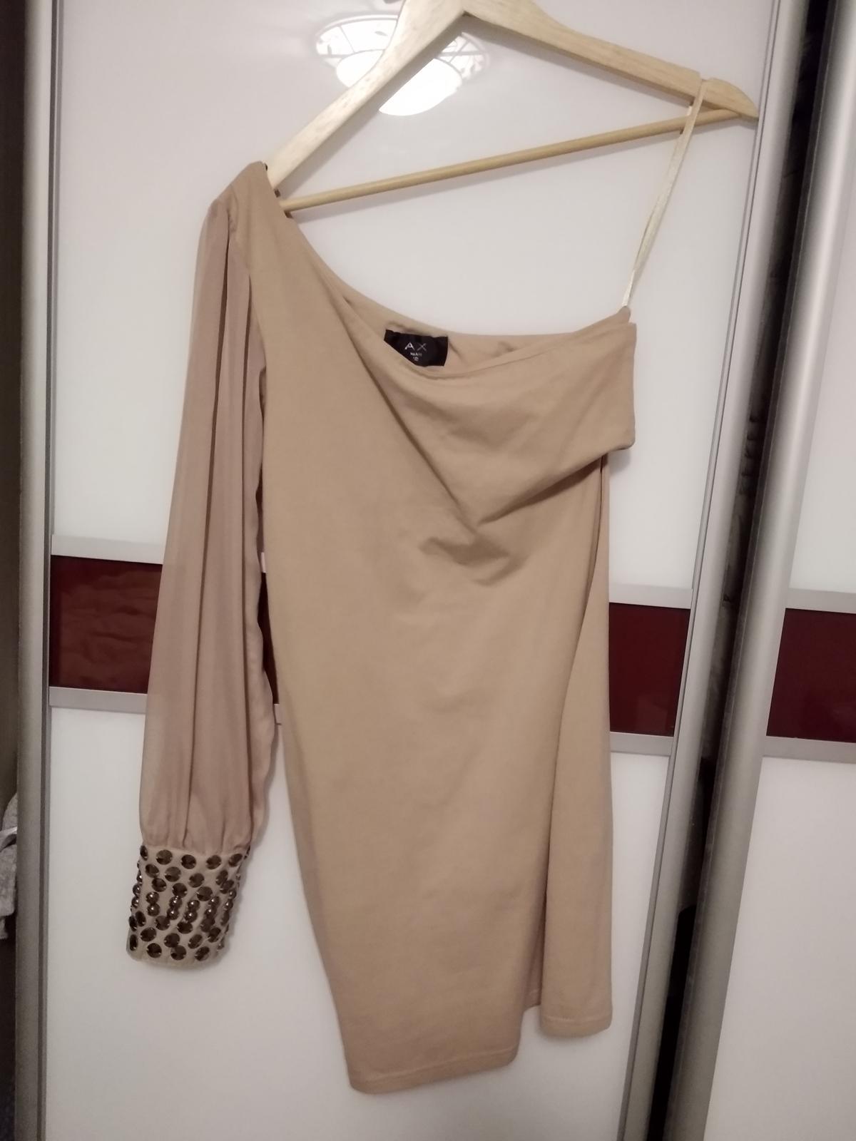 Elasticke elagantne šaty 38/40 - Obrázok č. 1