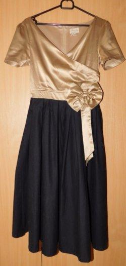 Retro šaty + tylová spodnička - Obrázok č. 1