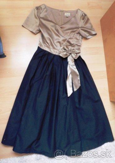 Retro šaty + tylová spodnička - Obrázok č. 2