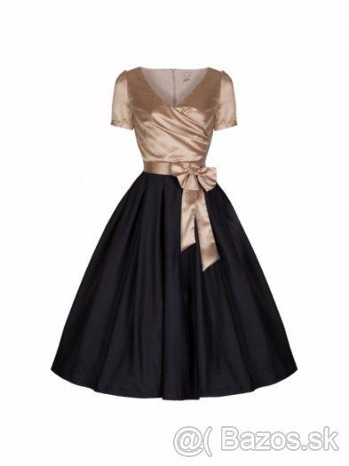 Retro šaty + tylová spodnička - Obrázok č. 4