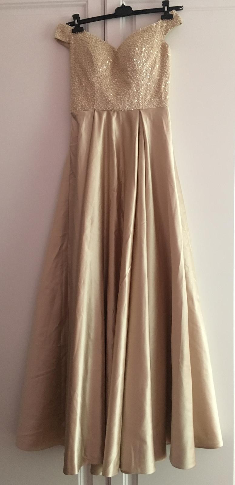 Plesové šaty 34/36 - Obrázok č. 1