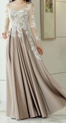 Plesové šaty s čipkou 34/36 - Obrázok č. 4