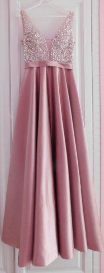 Plesové / popolnočné šaty veľ. 36-38 - Obrázok č. 2