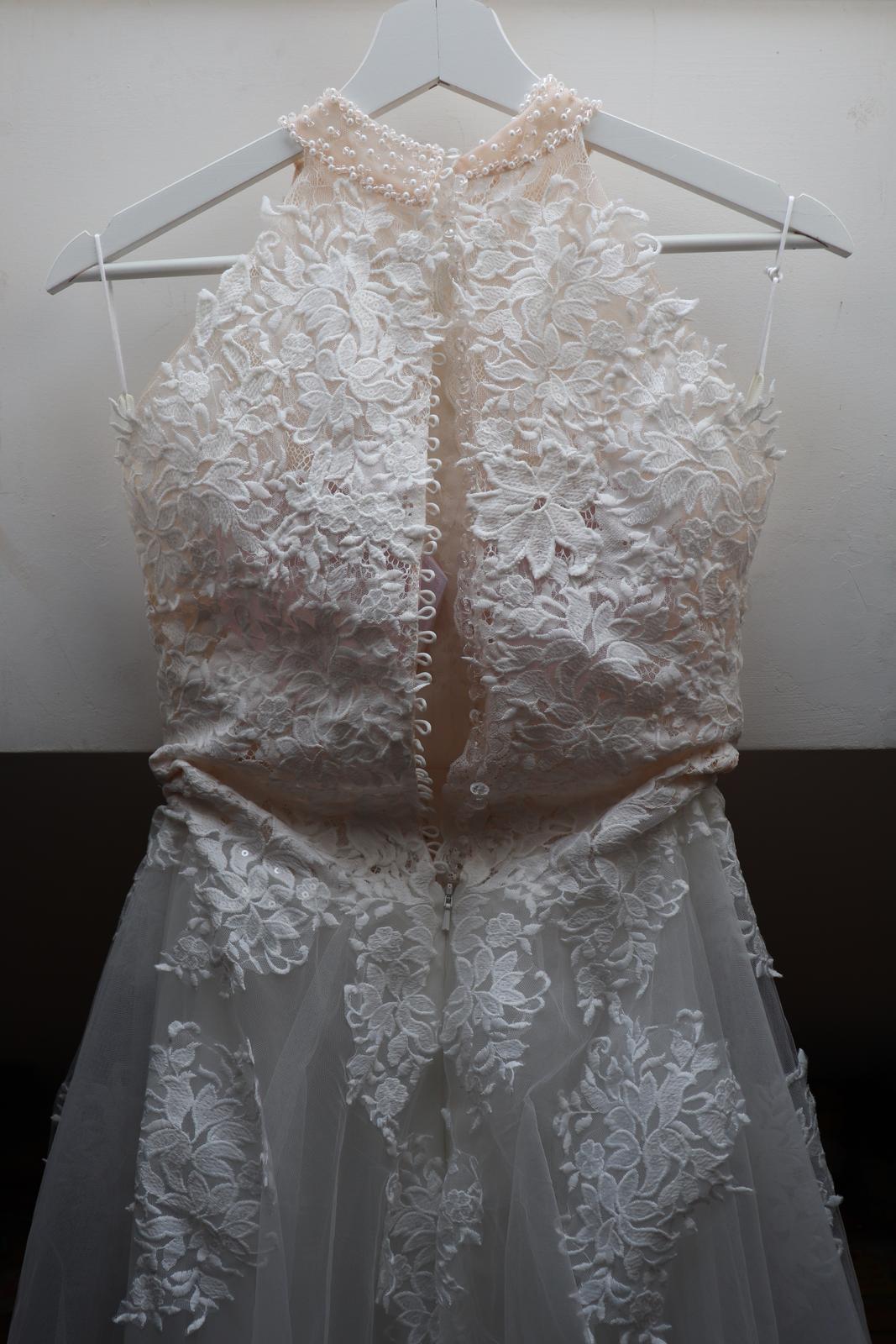 Svadobné šaty z EvaMária- nepoužité - Obrázok č. 4