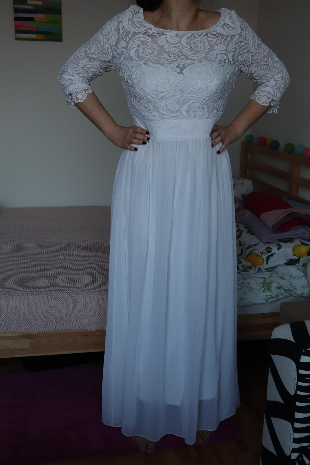 Svadobné/popolnočné/spoločenské šaty z Pretty Dresses - Obrázok č. 1