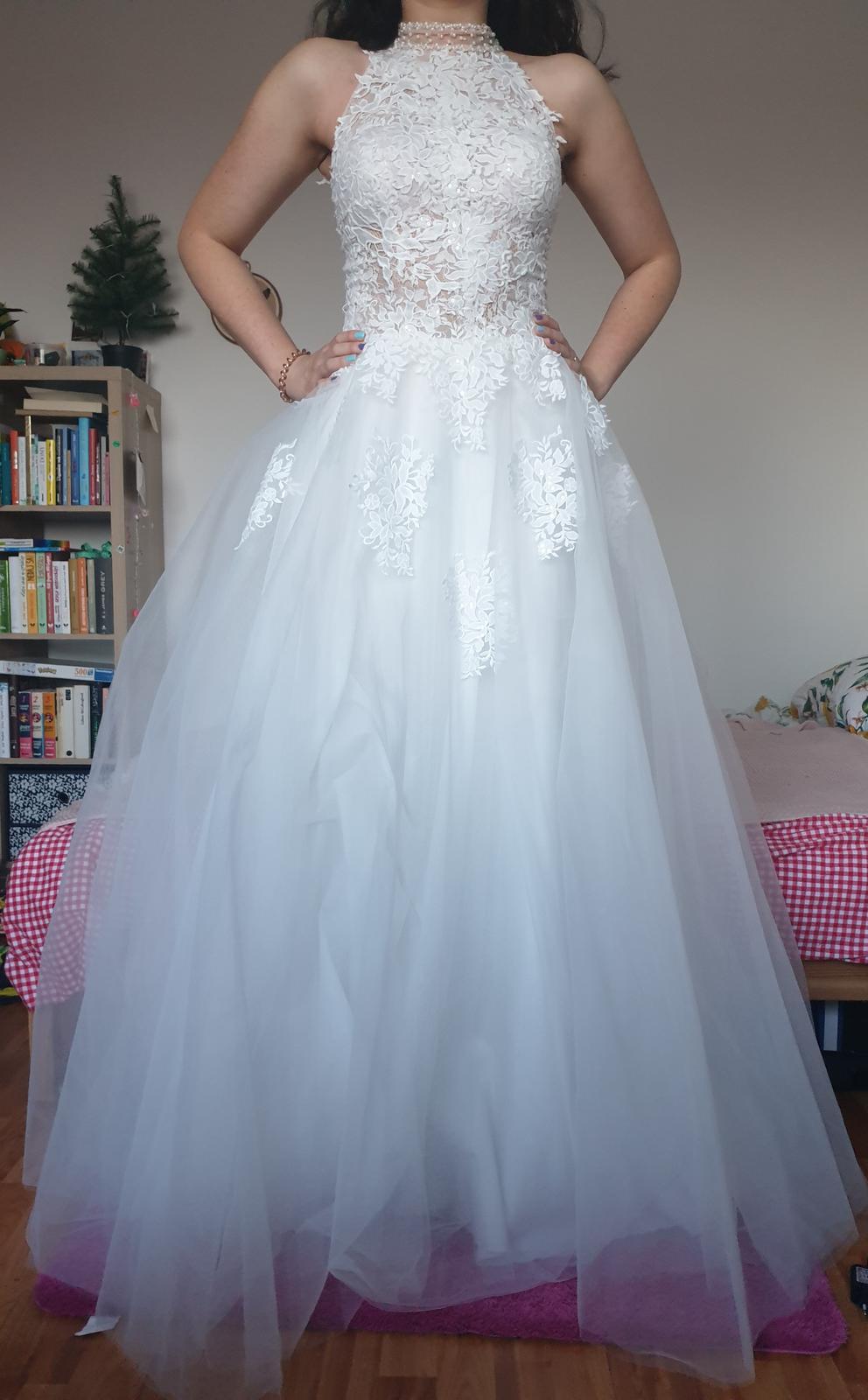 Svadobné šaty z EvaMária- nepoužité - Obrázok č. 2