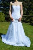 nenošené svatební šaty, , 36