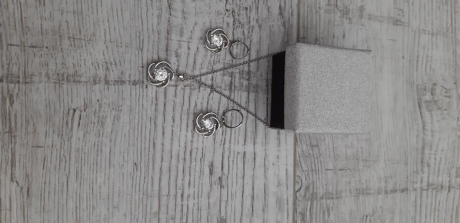 Náhrdelník +náušnice ( sada ) - Obrázok č. 1