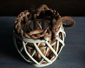 dřevěná lucerna,