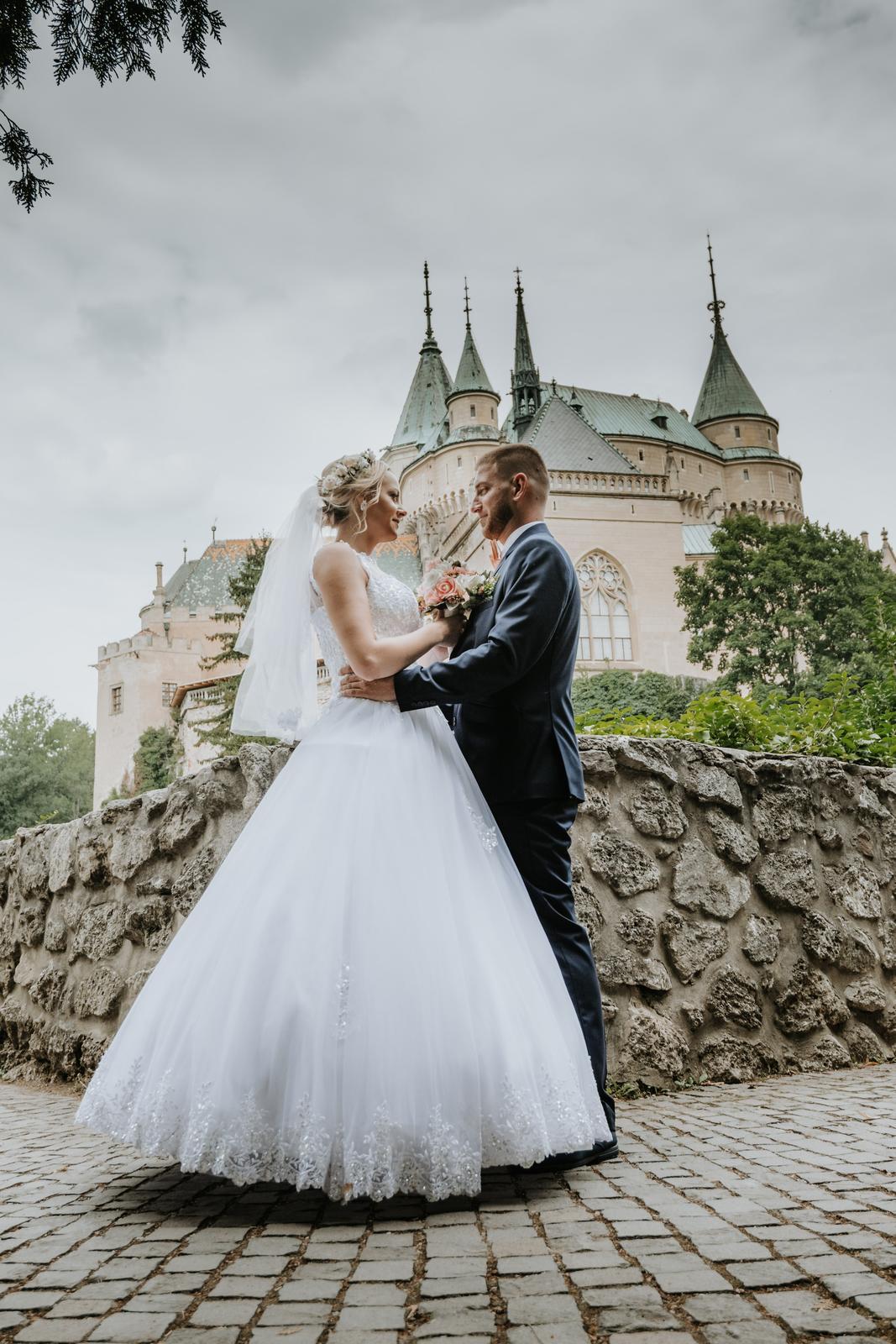 Svadobné šaty a doplnky. - Obrázok č. 1