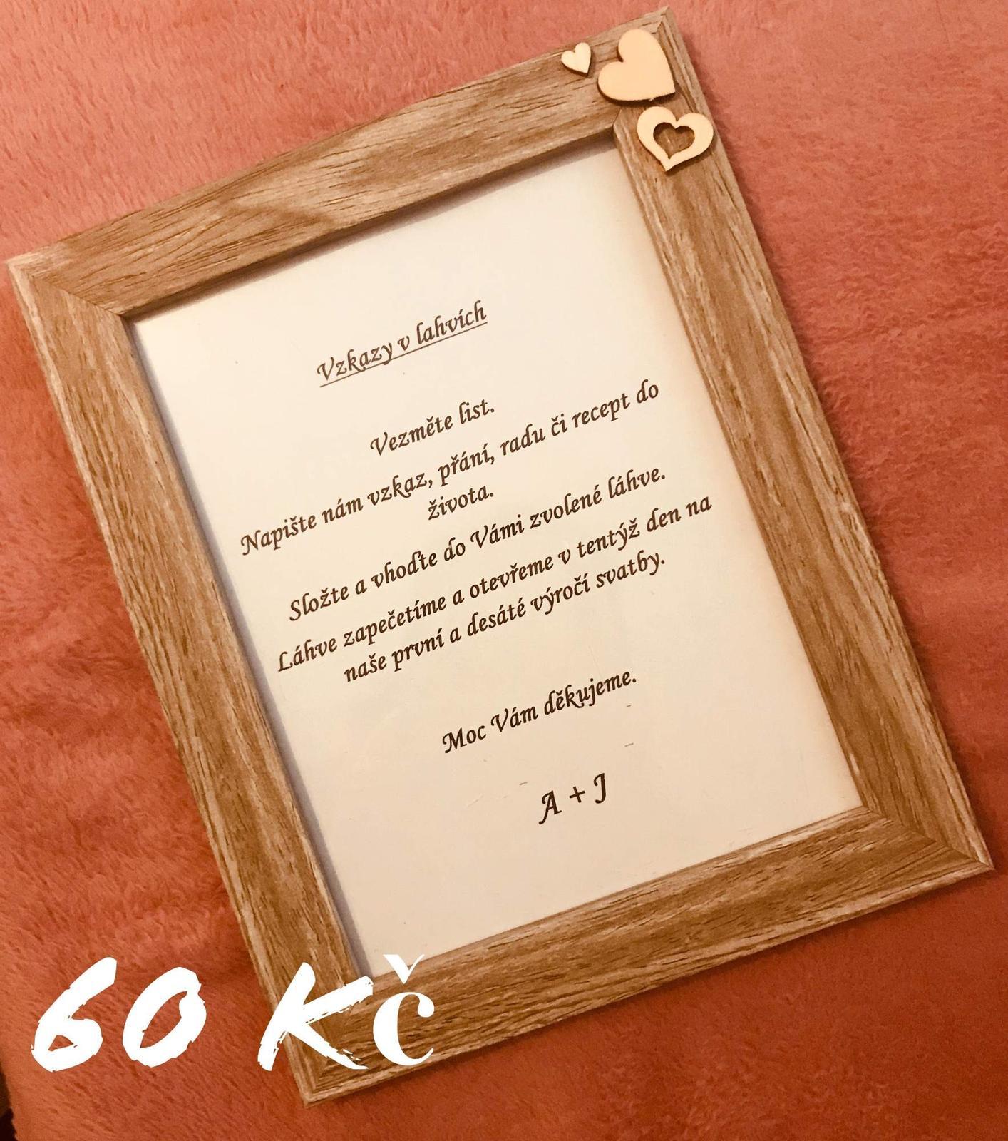 Rámeček dřevěný - Obrázek č. 1