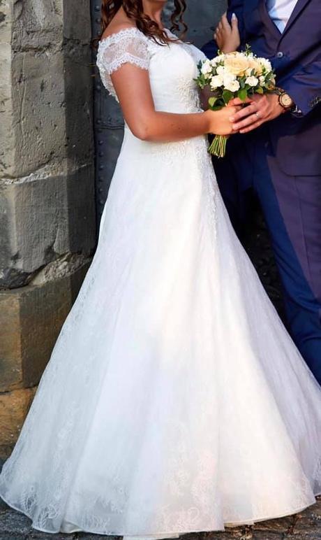 Svatební šaty vel. 42 :-) - Obrázek č. 1