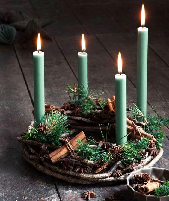 Adventní věnce a svícny - Obrázek č. 18