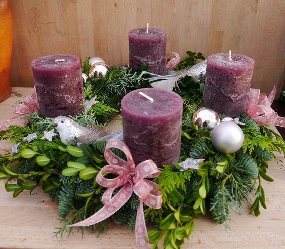Adventní věnce a svícny - Obrázek č. 33