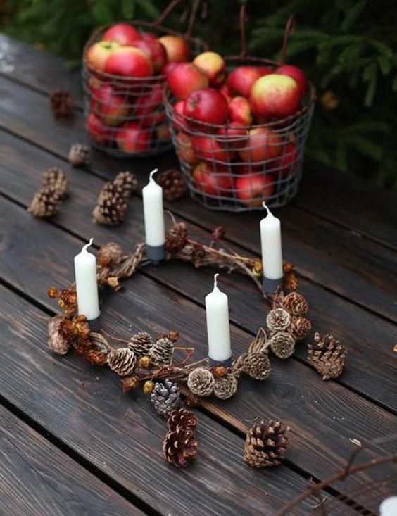 Adventní věnce a svícny - Obrázek č. 132
