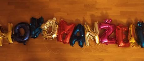 Novomanželé , nápis balónků - Obrázek č. 1