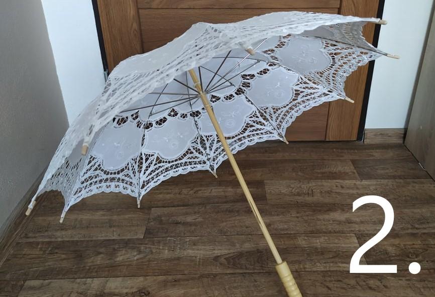 Deštník pro nevěstu/do fotokoutku - Obrázek č. 1