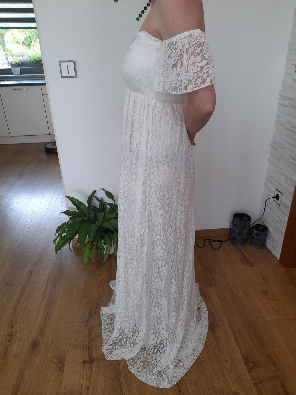 Svatební,těhotenské šaty - Obrázek č. 4