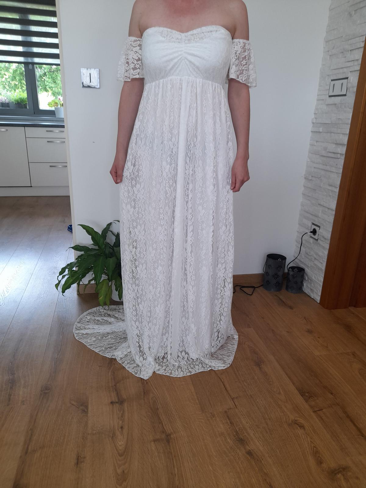 Svatební,těhotenské šaty - Obrázek č. 1