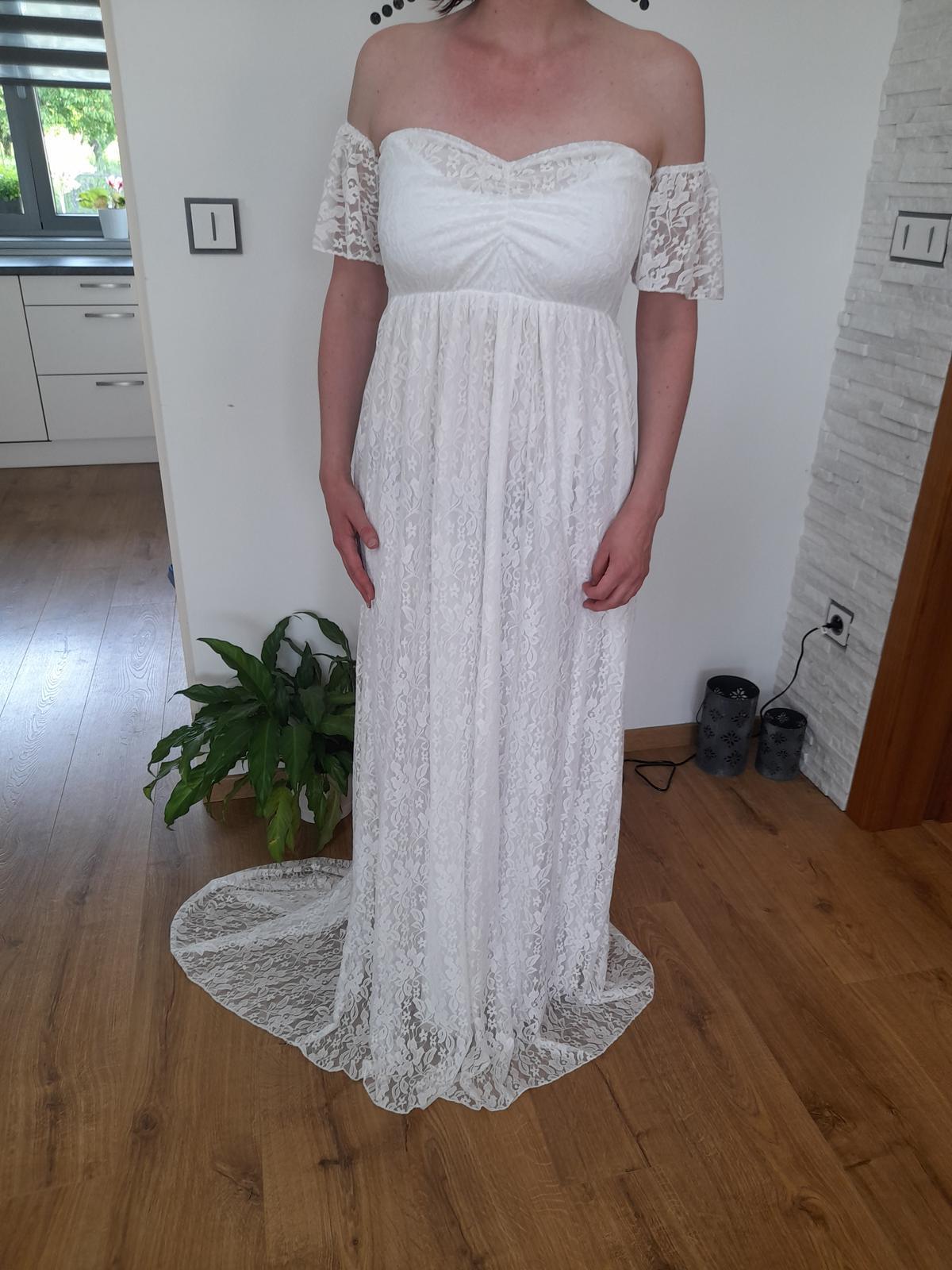 Svatební,těhotenské šaty - Obrázek č. 2