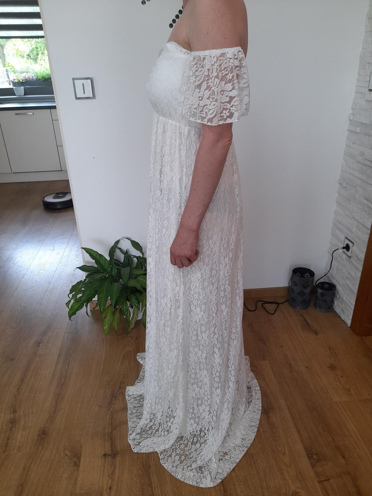 Svatební,těhotenské šaty - Obrázek č. 3