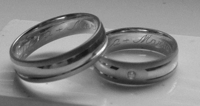 Maťko a Lucka - prstienky